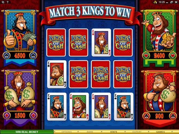 Kings of Cash slot Bonus game
