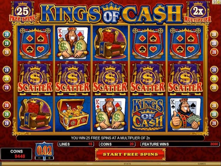 king of cash casino
