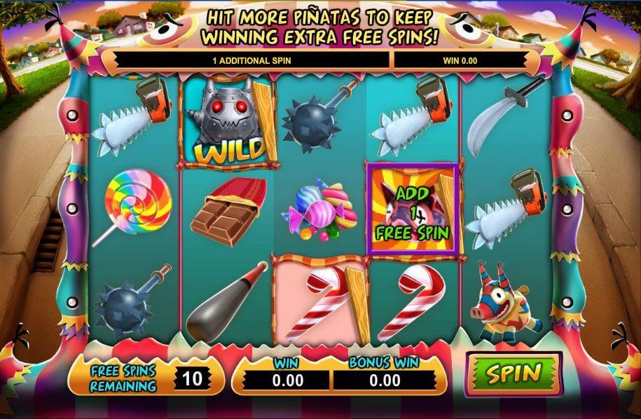 Mad Pinatas Gokkast Free Spins