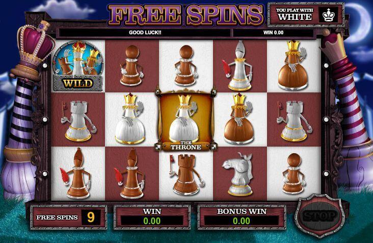 Queen of Thrones Gokkast Free Spins