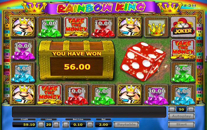 Rainbow King Bonus