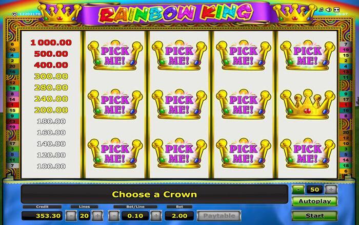 Rainbow King Bonus2