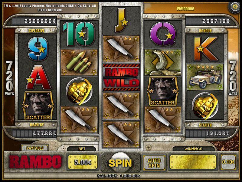 Rambo slot Jackpot