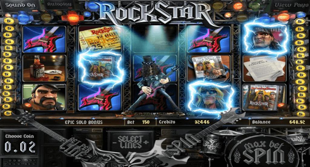Rockstar Gokkast Epic Solo