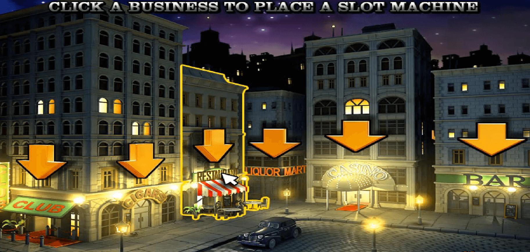 The Slotfather Bonus game
