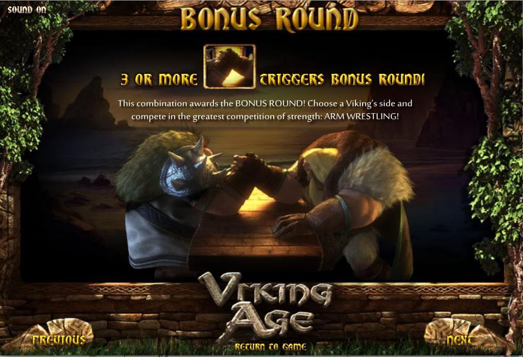 Viking Age Gokkast Bonusgame