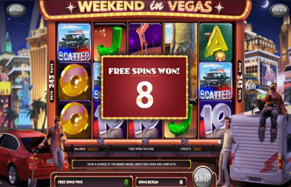 Weekend in Vegas Gokkast Free Spins