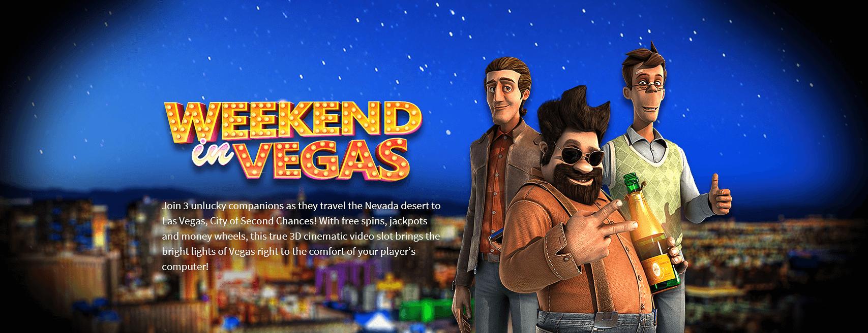Weekend in Vegas Gokkast Welkomst