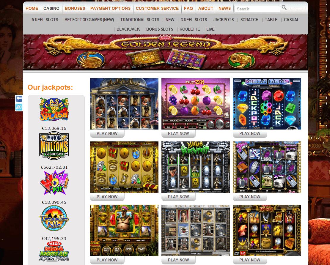 Big Bang Casino review Speelaanbod