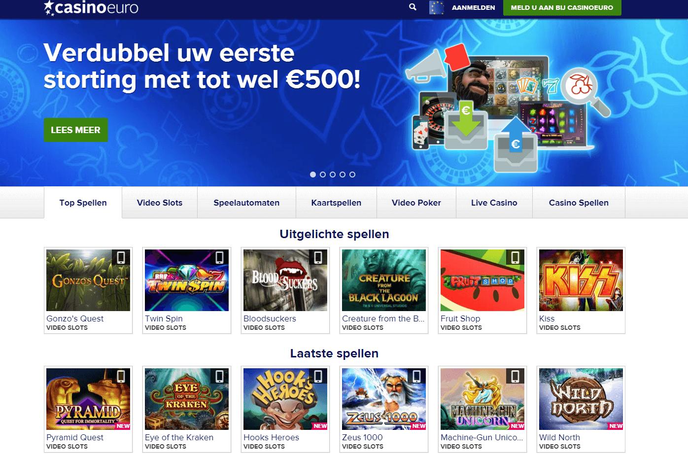Casino Euro Review Uiterlijk