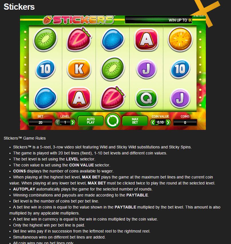 casino slots uitleg