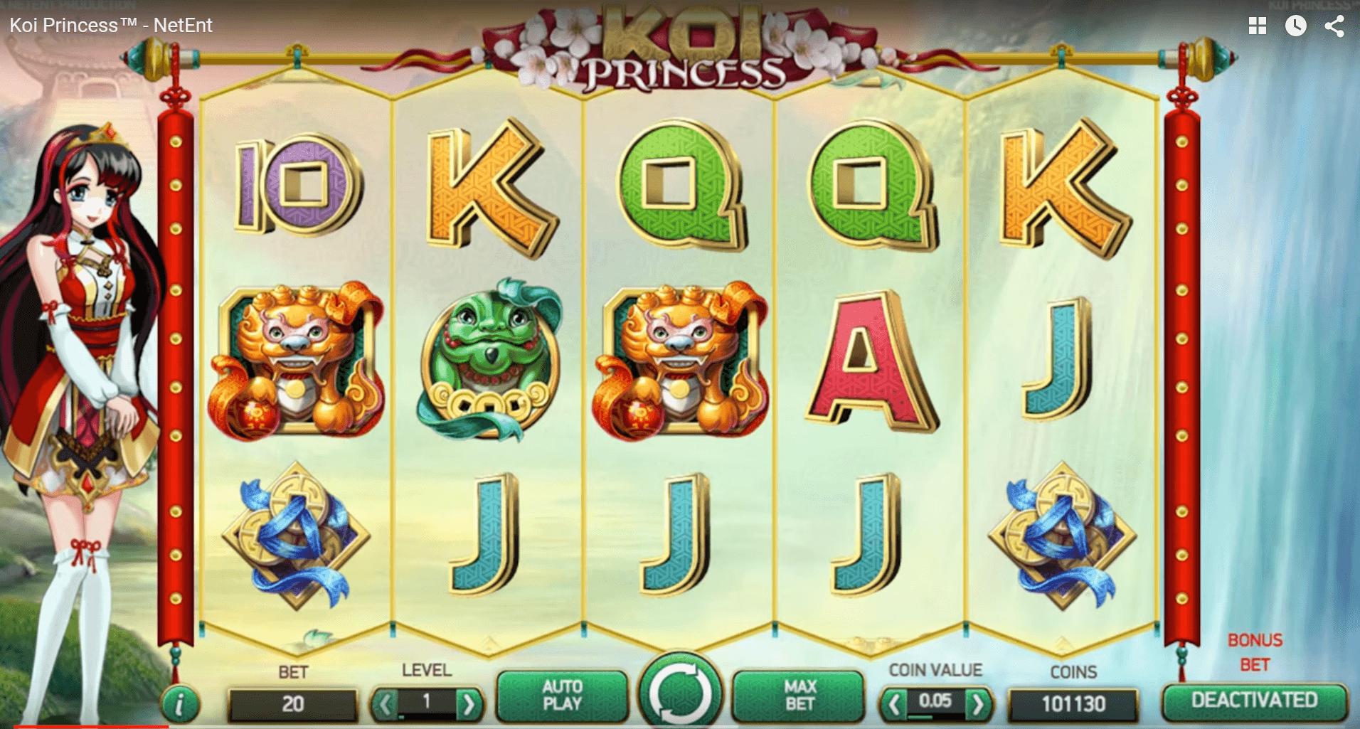 Hoe Speel je Koi Princess NetEnt Gokkast