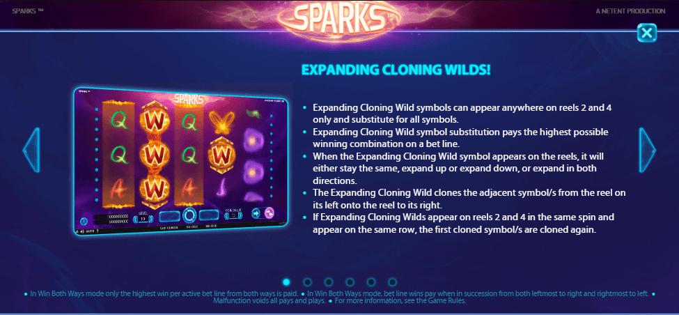 Hoe speel je Sparks Gokkast Netent