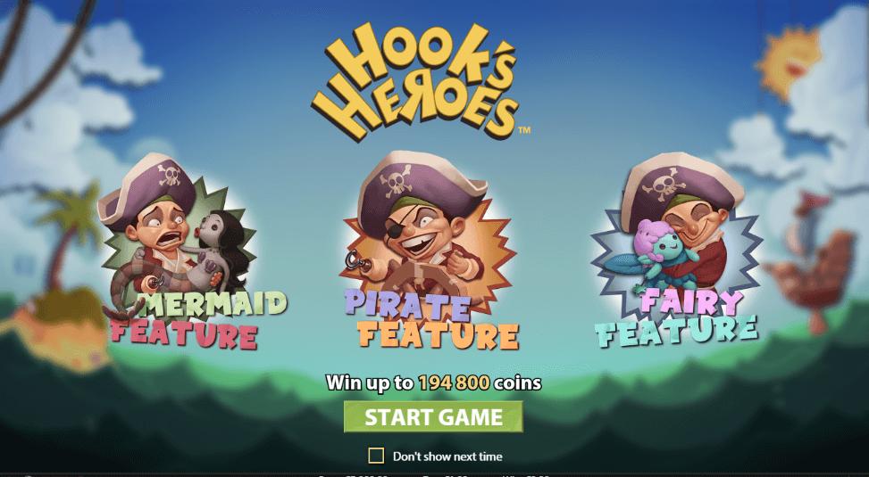 Hooks Heroes Gokkast NetEnt Features