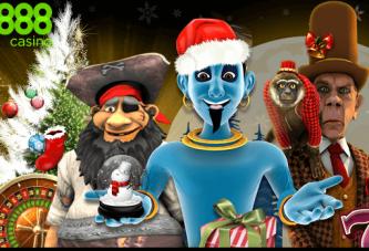 Wees snel bij 888 Casino's Kerst Actie!