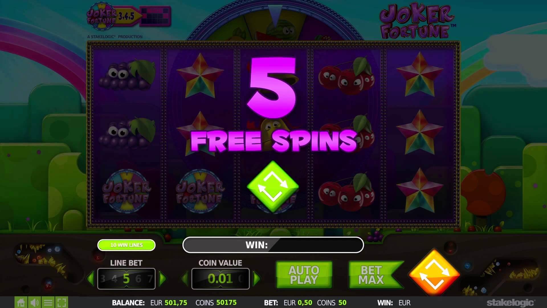 Joker Fortune Gokkast Free Spins