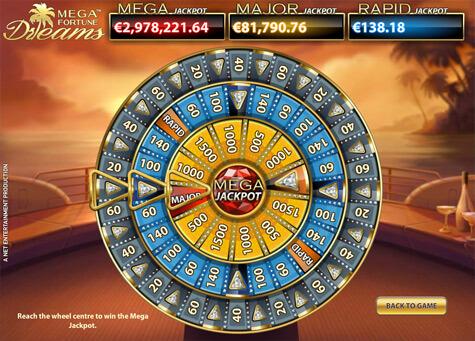 Mega Fortune Dreams Gokkast Jackpot