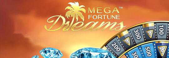 Mega Fortune Dreams Gokkast Welkomst