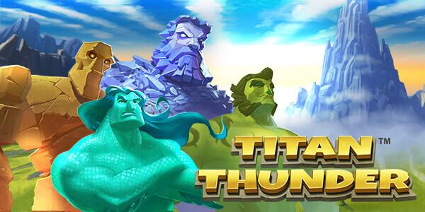 Titan Thunder Gokkast Welkomst