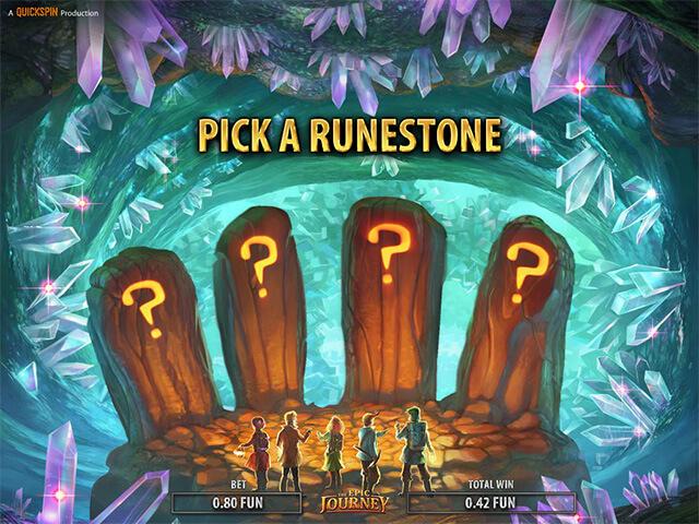 Epic Journey Gokkast Bonusgame