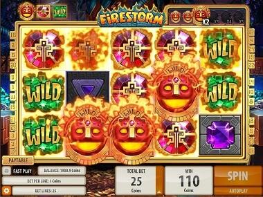 Firestorm Gokkast Feature