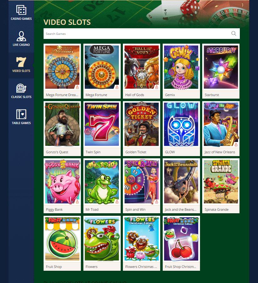 Oranje Casino Review Gokkasten
