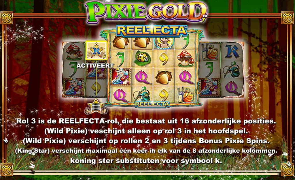 Pixie Gold NG Reelfecta