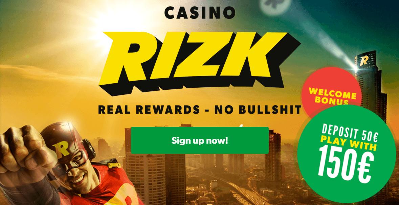 Rizk Casino Review Registratie