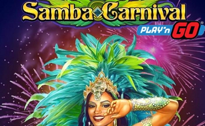 Samba Carnival nieuw Play'n Go Gokkast