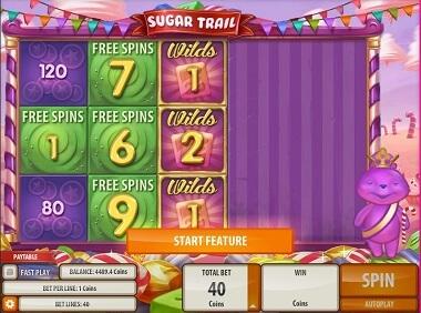 Sugar Trail Gokkast Feature
