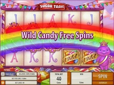 Sugar Trail Gokkast Free Spins