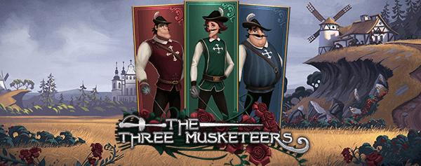 The Three Musketeers Gokkast Welkomst