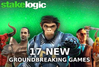 Stakelogic lanceert 17 nieuwe gokkasten!
