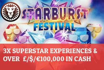 Starburst Festival bij Leo Vegas!