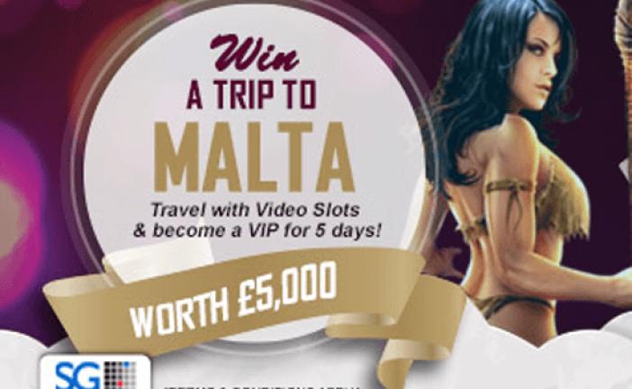 Win een reis naar Malta bij Videoslots!