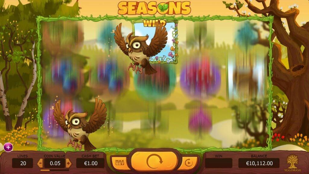 De verschillende wild symbolen in Seasons