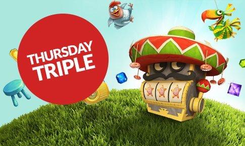 Thursday Triple Promotion