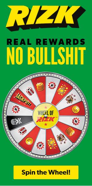 Rizk Casino Welkomstbonus 100 euro