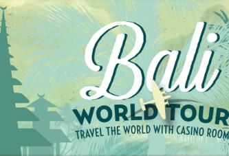 5 Spelers winnen een Wereld Tour naar Bali bij Casino Room!