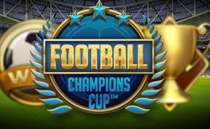 Win tickets naar het EK met Football Champions Cup gokkast