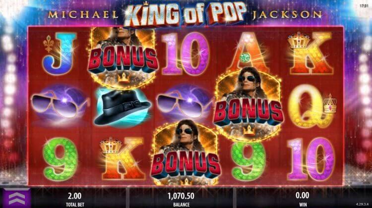 Michael Jackson King of Bonus