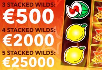 Win € 25.000 met gestapelde wilds bij Polder Casino!