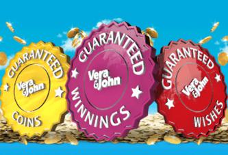 Gegarandeerd elke dag geld winnen bij Vera&John!
