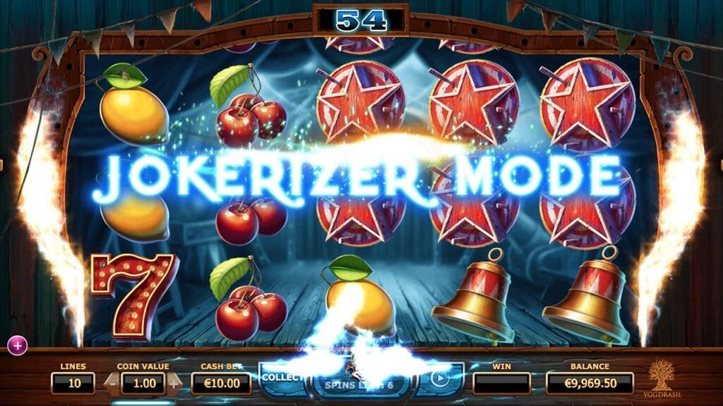 Wicked Circus Yggdrasil Jokerizer Mode