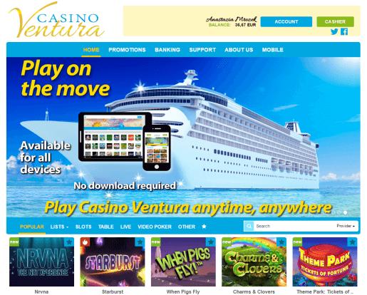 Casino Ventura Uiterlijk