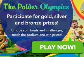 Ontvang gratis spins bij de Polder Olympische Spelen