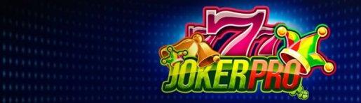 Joker Pro Welkomst