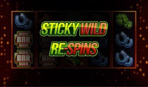 Joker Pro sticky wild respins