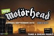 Sneakpeak van de Motörhead gokkast van NetEnt!