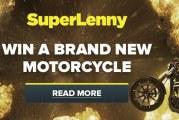 Win een Harley Davidson bij SuperLenny!